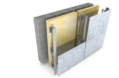 Hot Dip Galvanized Facade Subframes Galvanizers Association