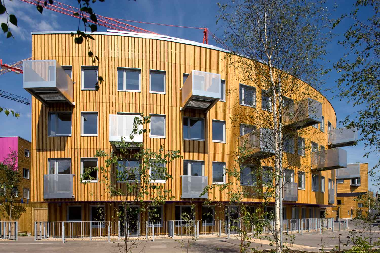 low cost flat housing design scheme