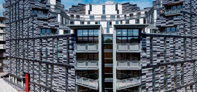 Richard Murphy Architects - Wharton Square Social Housing, Edinburgh