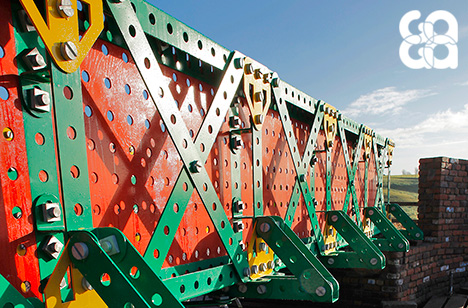 Duplex Systems Award Winner 2014 - Liam Curtin, The Meccano Bridge