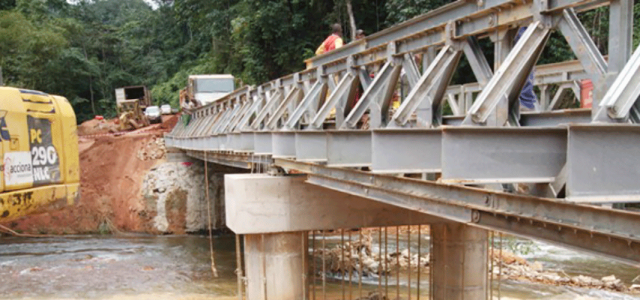 Bridge infrastructure, Gabon