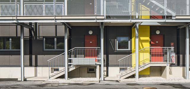 Apartment block in Kapfenberg, Austria