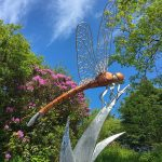 Dragonfly Sculpture Thrussels