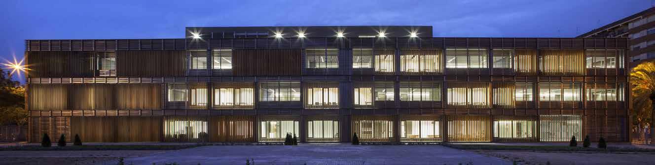 galvanised facade