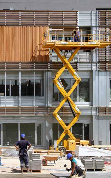 galvanised steel facade