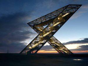 galvanized steel landmark Germany