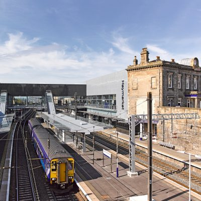 Haymarket Station in Edinburgh