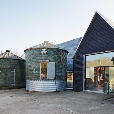 Feeringbury Barn Silo
