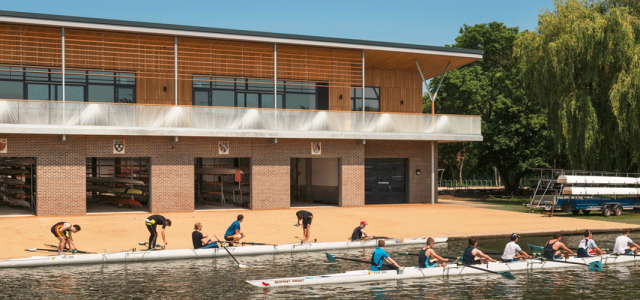 Combined Colleges Boathouse  RHP Cambridge