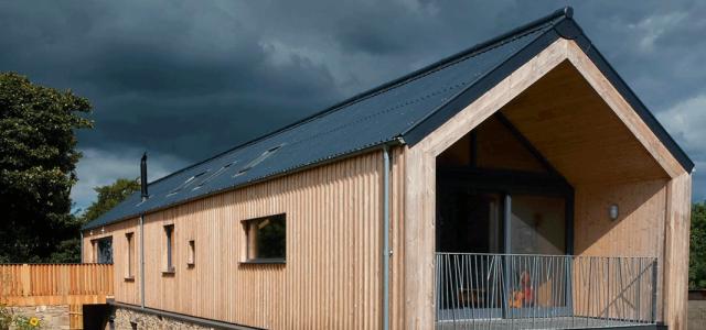 County Down Barn -  Micah T Jones Architect