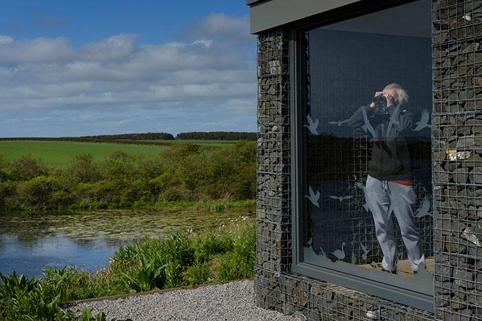 Discovery Centre at Hauxley Nature Reserve Brightblue Studio