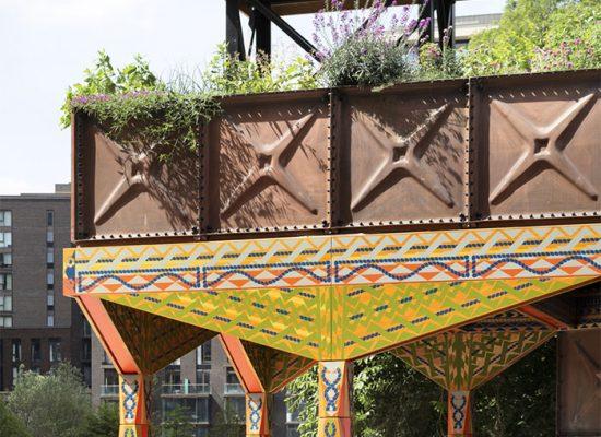 Nine Elms Thames Path Pavilion
