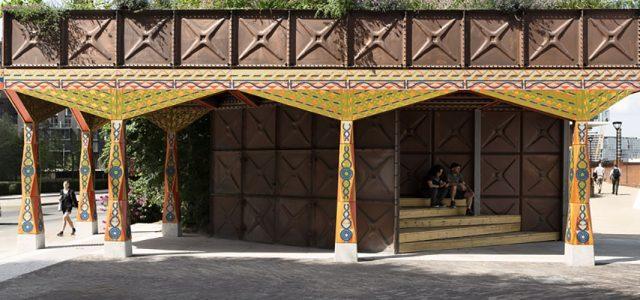 Studio Weave Nine Elms Thames Path Pavilion