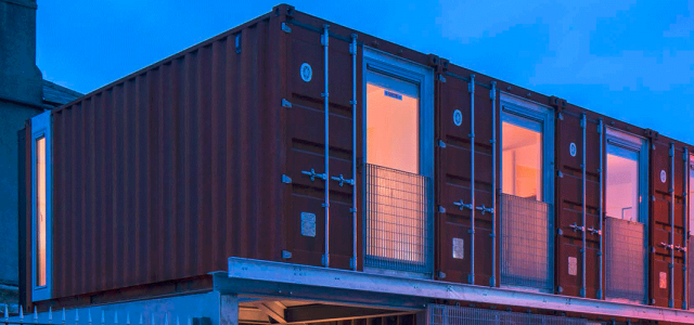 Ringsend Container House, Dublin