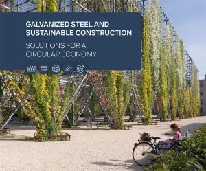 galvanized steel and sustainable construction circular economy