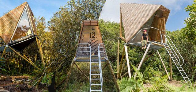 Kudhva Wilderness Cabin in Cornwall by New British Design