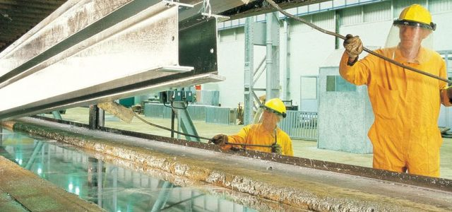 Galvanizing process