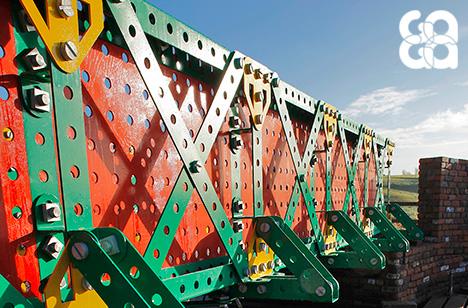 Winner 2014 – Liam Curtin, The Meccano Bridge