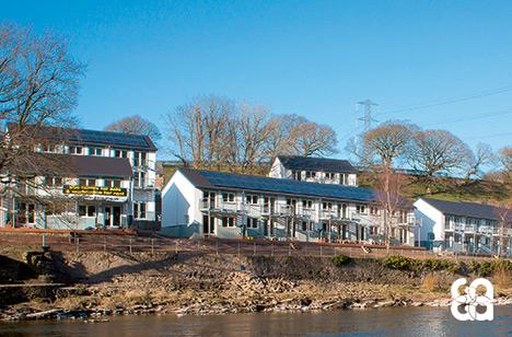 Winner 2014 - Eco Arc Architects, Lancaster Cohousing