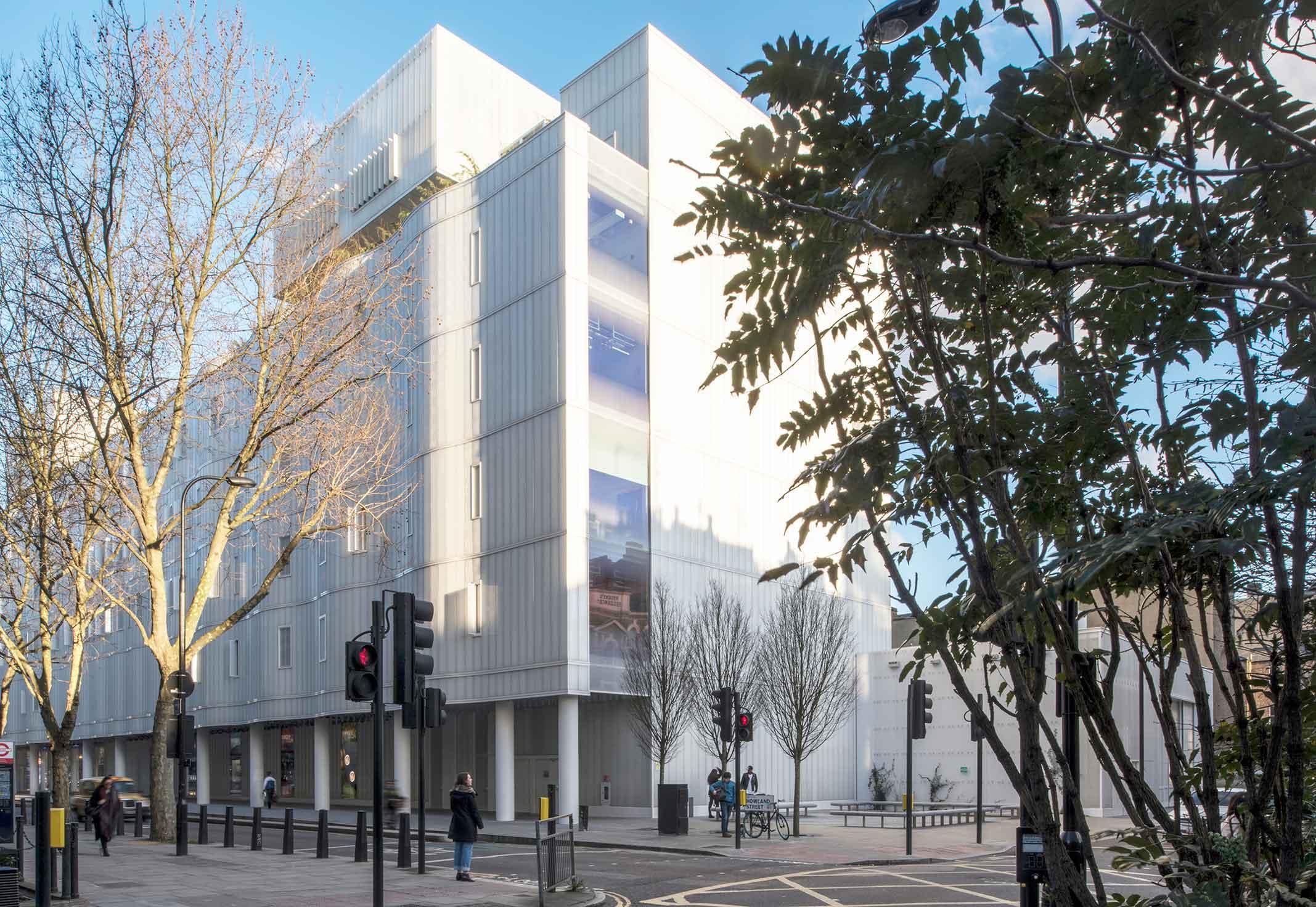 Ian Ritchie Architects Sainsbury Wellcome Centre, London